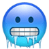 🥶 cold face Emoji on Apple Platform