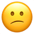 😕 confused face Emoji on Apple Platform