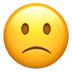 🙁 slightly frowning face Emoji on Apple Platform