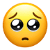 🥺 pleading face Emoji on Apple Platform