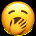 🥱 yawning face Emoji on Apple Platform