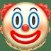 🤡 जोकर का चेहरा एप्पल प्लेटफ़ॉर्म पर इमोजी