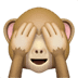 🙈 see-no-evil monkey Emoji on Apple Platform