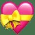 💝 heart with ribbon Emoji on Apple Platform