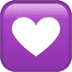 💟 heart decoration Emoji on Apple Platform