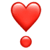 ❣️ heart exclamation Emoji on Apple Platform