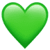 💚 green heart Emoji on Apple Platform