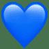 💙 blue heart Emoji on Apple Platform