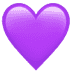 💜 purple heart Emoji on Apple Platform