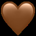 🤎 brown heart Emoji on Apple Platform