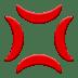 💢 Anger Symbol Emoji on Apple Platform