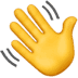 👋 waving hand Emoji on Apple Platform