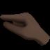 Pinching Hand: Dark Skin Tone