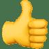 👍 thumbs up Emoji on Apple Platform