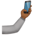 🤳🏾 selfie: medium-dark skin tone Emoji on Apple Platform