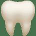 🦷 tooth Emoji on Apple Platform