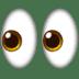 👀 Yeux Emoji sur la plateforme Apple