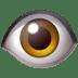 👁️ Oog Emoji op Apple Platform