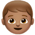👦🏽 boy: medium skin tone Emoji on Apple Platform