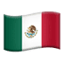 🇲🇽 flag: Mexico Emoji on Apple Platform
