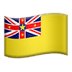 🇳🇺 flag: Niue Emoji on Apple Platform