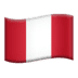 🇵🇪 flag: Peru Emoji on Apple Platform