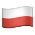 🇵🇱 flag: Poland Emoji on Apple Platform