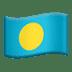 Flag: Palau
