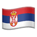 🇷🇸 flag: Serbia Emoji on Apple Platform