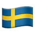 🇸🇪 flag: Sweden Emoji on Apple Platform