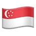 🇸🇬 flag: Singapore Emoji on Apple Platform