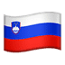 🇸🇮 flag: Slovenia Emoji on Apple Platform