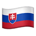 🇸🇰 flag: Slovakia Emoji on Apple Platform
