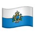 Flag: San Marino