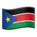 🇸🇸 flag: South Sudan Emoji on Apple Platform