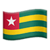 🇹🇬 flag: Togo Emoji on Apple Platform