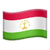 🇹🇯 flag: Tajikistan Emoji on Apple Platform