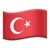 🇹🇷 flag: Turkey Emoji on Apple Platform