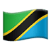 🇹🇿 flag: Tanzania Emoji on Apple Platform