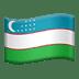 Flag: Uzbekistan