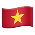 🇻🇳 flag: Vietnam Emoji on Apple Platform