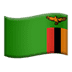 🇿🇲 flag: Zambia Emoji on Apple Platform