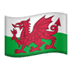 🏴󠁧󠁢󠁷󠁬󠁳󠁿 flag: Wales Emoji on Apple Platform
