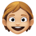 🧒🏼 child: medium-light skin tone Emoji on Facebook Platform