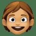 🧒🏽 child: medium skin tone Emoji on Facebook Platform