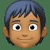🧑🏾 person: medium-dark skin tone Emoji on Facebook Platform