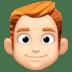 👨🏻🦰 man: light skin tone, red hair Emoji on Facebook Platform