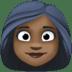 👩🏿 Dark Skin Tone Woman Emoji on Facebook Platform