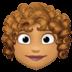 👩🏽🦱 woman: medium skin tone, curly hair Emoji on Facebook Platform