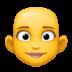 👩🦲 woman: bald Emoji on Facebook Platform